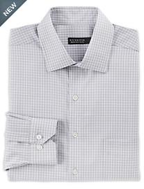 Rochester Non-Iron Textured Small Grid Dress Shirt
