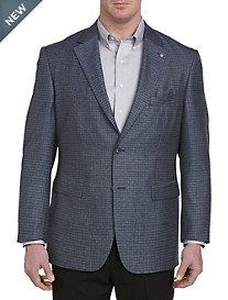 Oak Hill® Jacket-Relaxer™ Heather Check Sport Coat