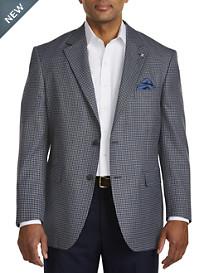 Oak Hill® Jacket-Relaxer™ Mini Check Sport Coat