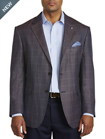 Oak Hill® Jacket-Relaxer™ Tonal Herringbone Sport Coat
