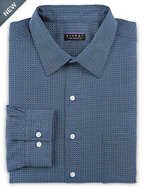Synrgy™ Performance Non-Iron Square-Patterned Dress Shirt