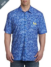 Collegiate Floral Sport Shirt