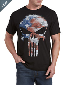 Punisher Flag Graphic Tee