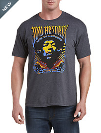 Jimi Hendrix Live In Concert Graphic Tee