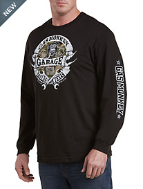 Gas Monkey Trademark Long-Sleeve Graphic Tee