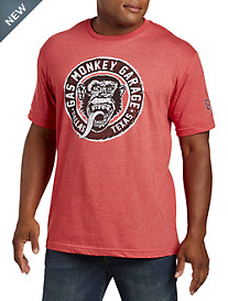 Gas Monkey Vintage Crest Graphic Tee
