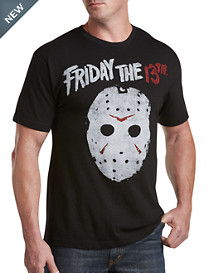 Distressed Jason Mask Graphic Tee