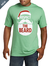 Respect The Beard Graphic Tee