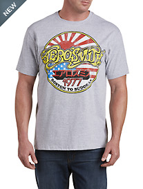 Aerosmith Boston To Budokan Graphic Tee