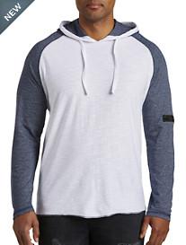 PX Clothing Mock Twist Colorblock Hoodie