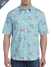 PX Clothing Floral Sport Shirt