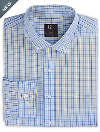 Gold Series No-Iron Plaid Dress Shirt