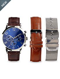 Synrgy™ Analog Watch with Bracelet Sets