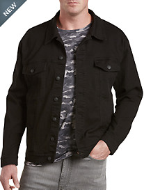 True Nation® Black Stretch Denim Jacket