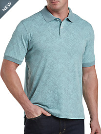 Harbor Bay® Tropical Interlock Polo