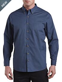 Harbor Bay® Easy-Care Diamond-Print Sport Shirt