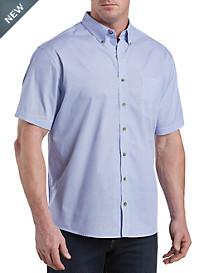Harbor Bay® Easy-Care Dot-Print Sport Shirt