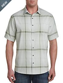 Synrgy™ Microfiber Plaid Sport Shirt