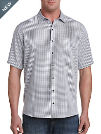 Harbor Bay® Microfiber Check Sport Shirt