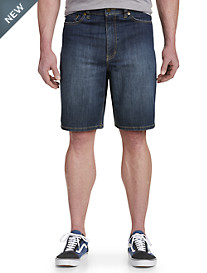 True Nation® Rinsed Relaxed-Fit Denim Shorts