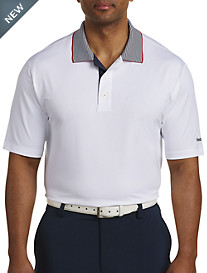 Reebok Golf Piqué Collar Polo