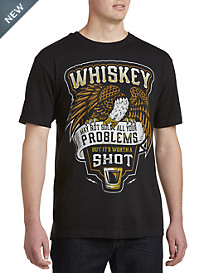 Whiskey Problem Shot Graphic Tee