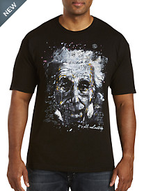 Albert Einstein Graphic Tee