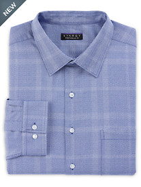 Synrgy™ Perfromance Large Plaid Dress Shirt