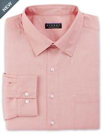 Synrgy™ Perfromance Triangular Geometric Pattern Dress Shirt