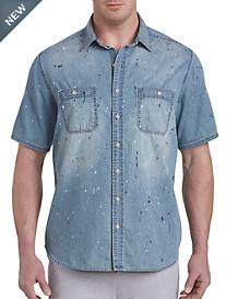 Paint Splatter Sport Shirt