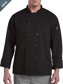 Red Kap® Black Chef Coat