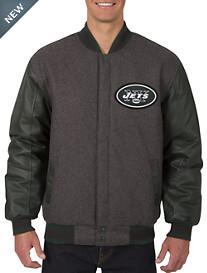 NFL Reversible Leather/Wool Jacket