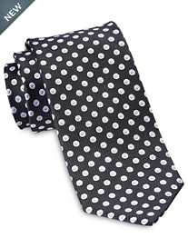 Rochester Designed in Italy Small Geo Dot Silk Tie