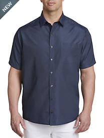 Harbor Bay® Microfiber Dash Print Sport Shirt