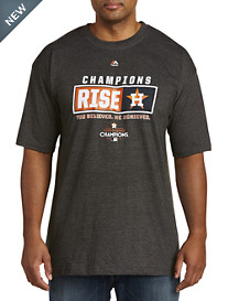 Majestic® MLB 2017 Houston Astros Rise World Series Championship Tee