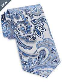 Synrgy™ Reversible Contrast Paisley Tie