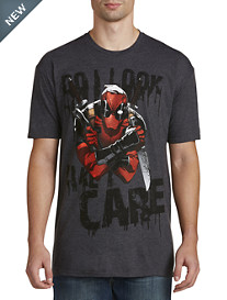 Deadpool Do I Look Like I Care Graphic Tee