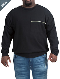 MVP Collections French Terry Zip-Pocket Sweatshirt
