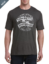 Retro Brand Tom Petty & The Heartbreakers Graphic Tee