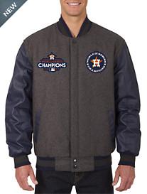 MLB 2017 World Series Reversible Varsity Jacket