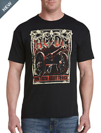AC/DC About To Rock Graphic Tee