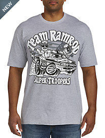 Team Ramrod Super Troopers Muscle Car Graphic Tee