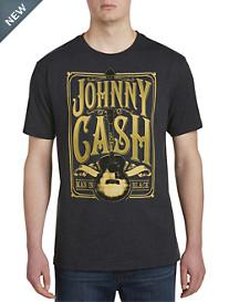Johnny Cash Signature Guitar Graphic Tee