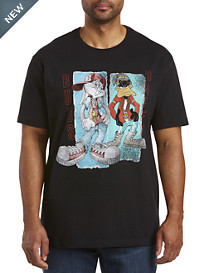 Looney Tunes Bugs and Daffy Graphic Tee