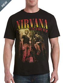 Nirvana Back Alley Band Graphic Tee