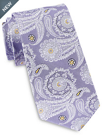 Rochester Designed in Italy Large Geo Paisley Silk Tie