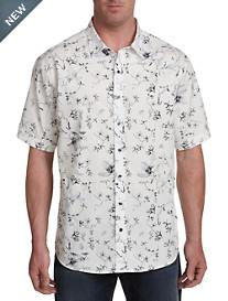 Synrgy Zen Floral Print Sport Shirt