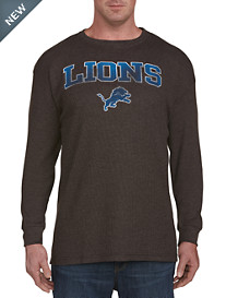 NFL Long-Sleeve Waffle-Knit Heathered Tee