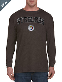 NFL Long-Sleeve Thermal Heathered Tee<
