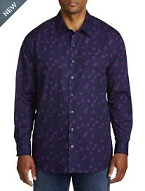 Synrgy Circle Print Sport Shirt